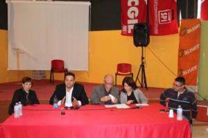 conferenza stampa cgil sunia